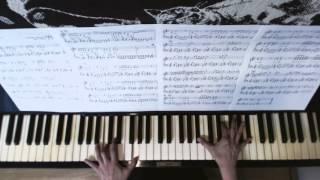 UNICORNの「エコー」(作曲:奥田民生)をピアノで楽しめるように耳コピ...