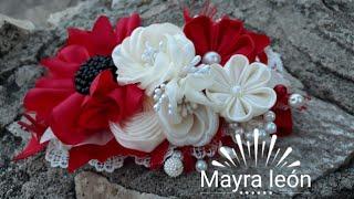MAYRA LEÓN #TIARA #DE #SATIN #ELEGANTE #2