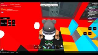 Roblox-Build and race Double Decker bus.