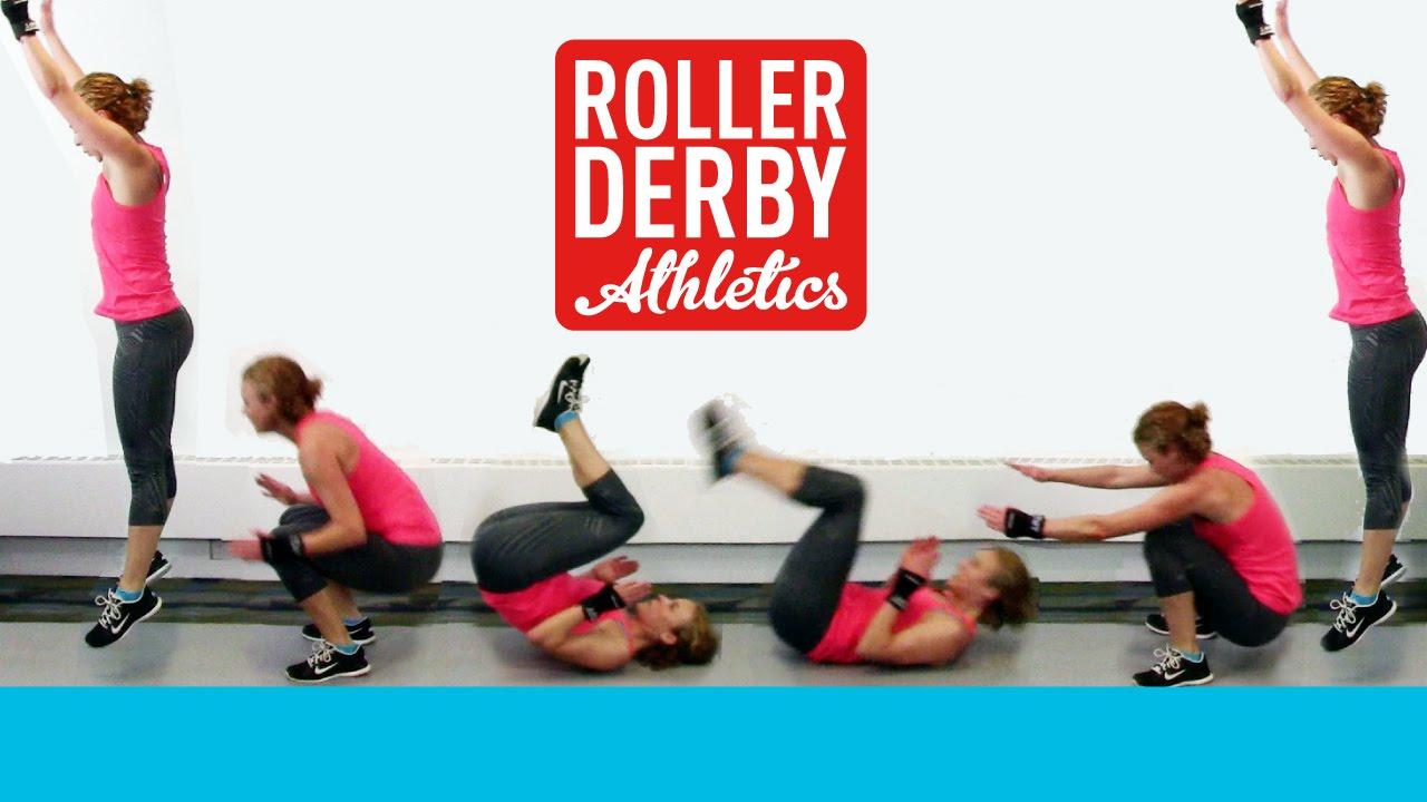 Roller Derby Training: Derby Hugs Drill - YouTube