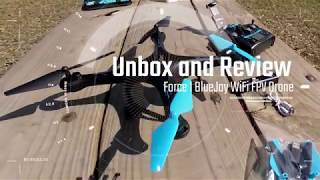 FORCE1 Blue Jay Drone unboxing and review