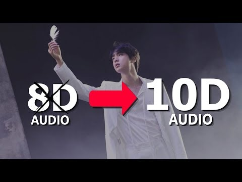 ⚠️BTS JIN - MOON [10D USE HEADPHONES!] 🎧