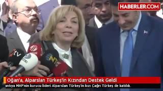 Oğan'a, Alparslan Türkeş'in Kızından Destek Geldi