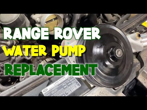 HOW TO EASILY REPLACE WATER PUMP IN RANGER ROVER (2008 – 2012)