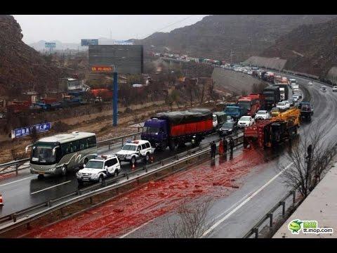 Car Crash) very Shock dash camera 2018 NEW By Top Speed Motor HD (492) HD