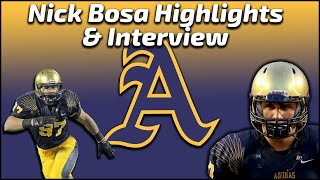 Nick Bosa - St. Thomas Aquinas DE - Highlights/Interviews - Sports Stars of Tomorrow