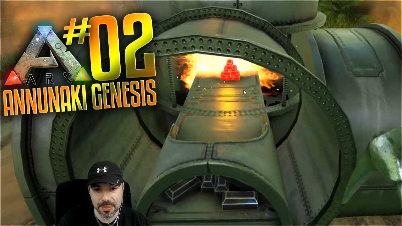 Ark Annunaki Genesis Mod Gameplay - S2 Ep 2 - Metal Blast