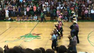 Choctaw War Chiefs Country Pep Rally Oct 2012