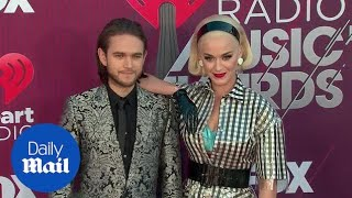 Dynamic duo! Katy Perry & Zedd arrive at iHeart Music awards