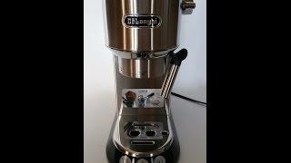 Delonghi - DEDICA 15-Bar Pump Espresso Machine