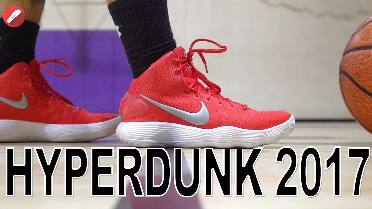 94f8b43e98a6 Nike Hyperdunk 2017 Performance Review! - YouTube