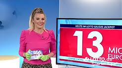 LOTTO 6aus49: Ziehung der Lottozahlen