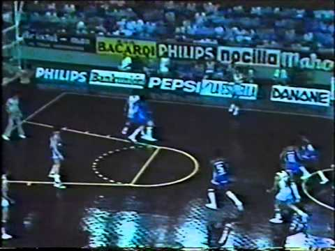 "R.Madrid - NBA Stars (22.09.1981) Torneo ""Bodas de Oro"" del Real Madrid"