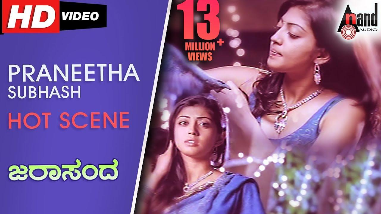 Praneetha Subhash Hot Scene Jarasandha Kannada Hot Scene 2017