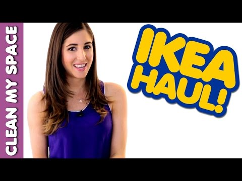 IKEA Haul! How to Buy Household Products on a Budget: Clean My Space