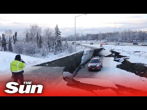 Alaska on Tsunami warning after massive 8.2 magnitude earthquake strikes off US coast