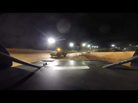 East Lincoln Speedway 6-29-19 Stock 4 Rear Cam Main Event 1of2 Alexus Motes
