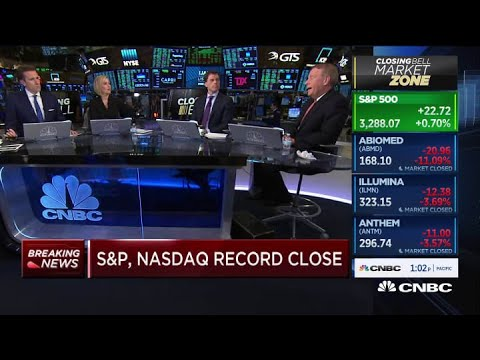 S&P 500 and Nasdaq close at record highs