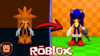 I TRANSFORM INTO SONIC. EXE IN ROBLOX ? SONIC SERIES. EXE IN ROBLOX LEON PICARON