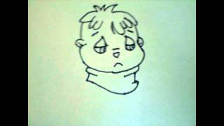 How to Draw Theodore from the Chipmunks