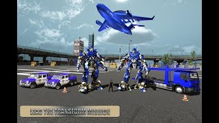 Police Plane Transport Game – Transform Robot Car (By Mizo Studio Inc) Android Gameplay HD