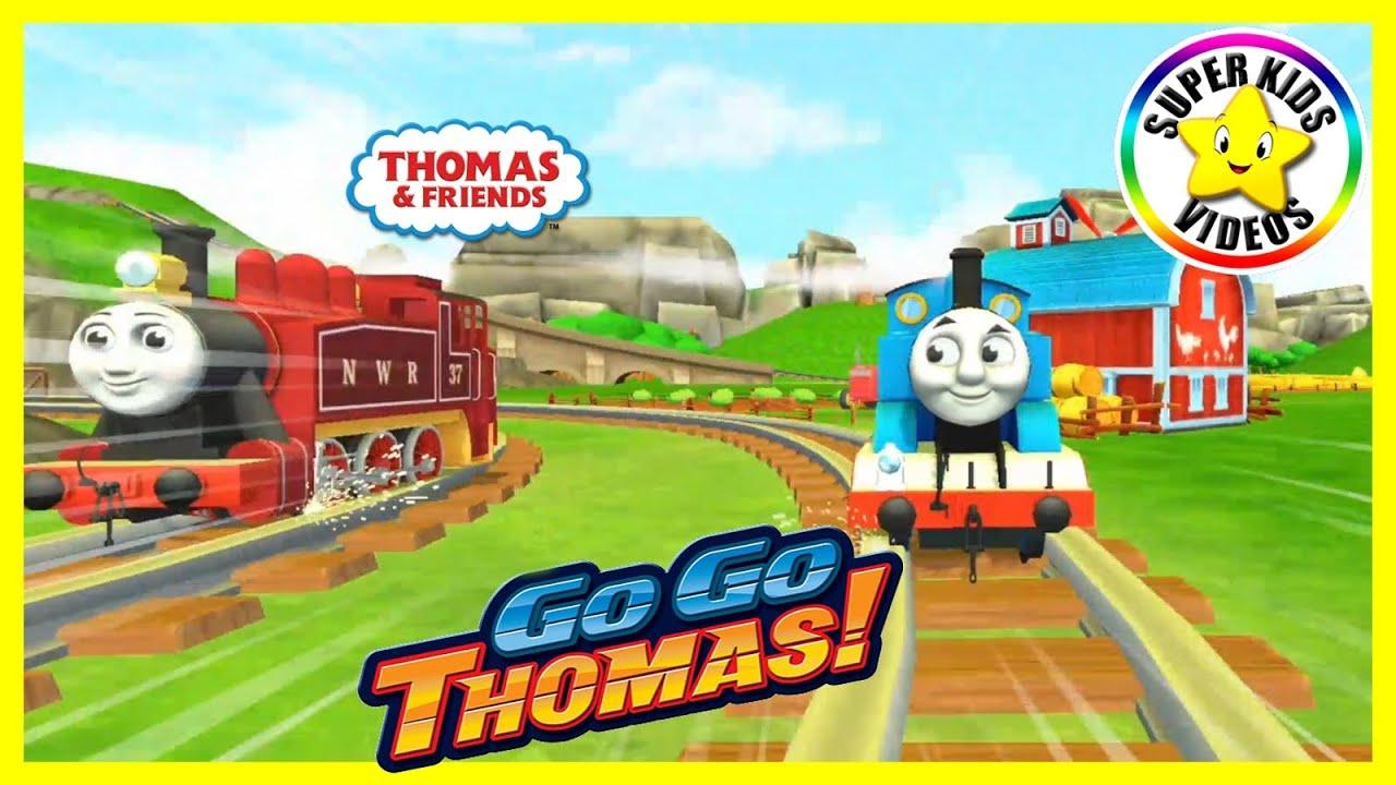 Thomas de Trein ☆ GoGo Thomas Gameplay ☆ Racen met Thomas de Stoomlocomotief