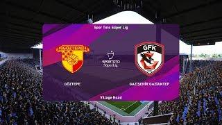 PES 2020   Goztepe vs Gaziantep - Super Lig   22/02/2020   1080p 60FPS