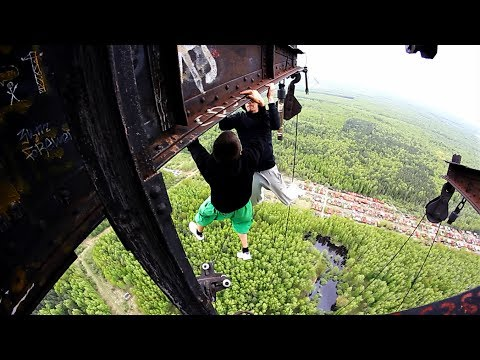 Dangerous Games 4 | AlexandeR Rusinov & Dexter | Best Extreme Parkour and Workout 2014