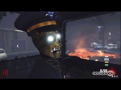 Call Of Duty: Black Ops II - Zombie Bus Gameplay (PS3)