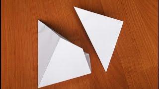 Как сделать хлопушку из бумаги своими руками (poppers origami)(Бумага: офисная А4, 80 г/м²; Как сделать хлопушку из бумаги своими руками - в данном видео продемонстрирован..., 2015-06-20T13:51:31.000Z)