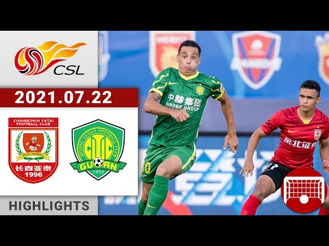 Changchun Yatai Beijing Guoan Goals And Highlights
