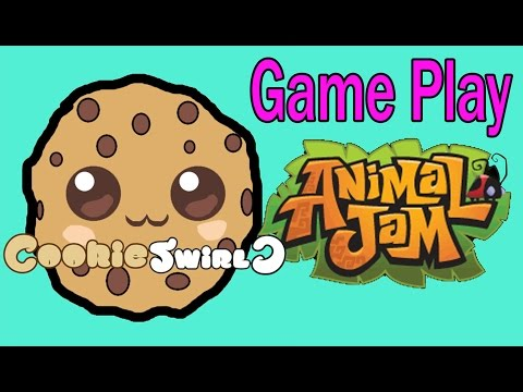 Cookieswirlc Animal Jam Online Game Play with Cookie Fans !!!! Random Fun Party Video