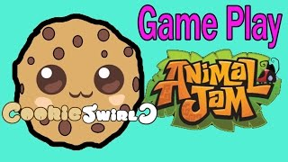 Cookieswirlc Animal Jam Online Game Play with Cookie Fans !!!! Random Fun Party Video thumbnail
