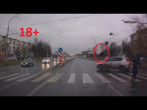 ЖЕСТЬ!! Трезвый водитель на ПП сбил четырех пешеходов 18+ Иваново