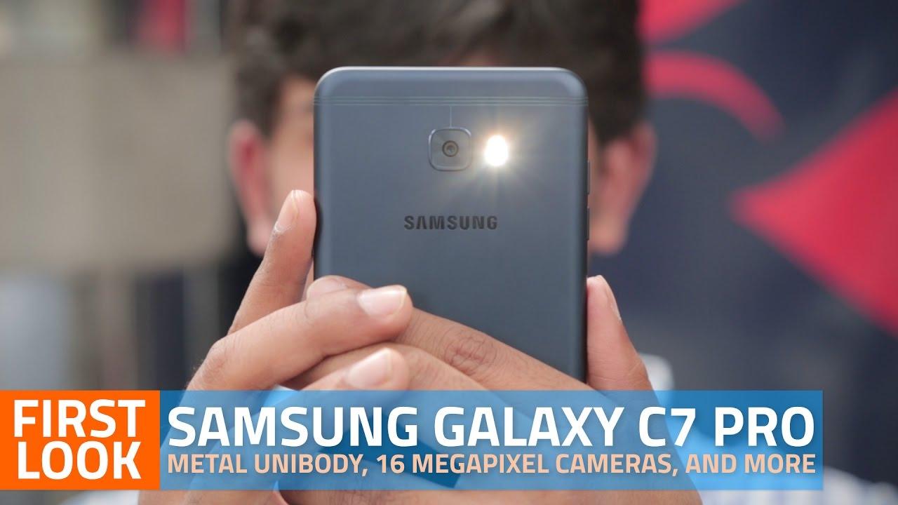 Samsung Galaxy C7 Pro First Impressions | NDTV Gadgets360 com