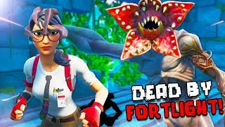 Killer Monster jagt uns! | Fortnite Dead by Fortlight Modus!
