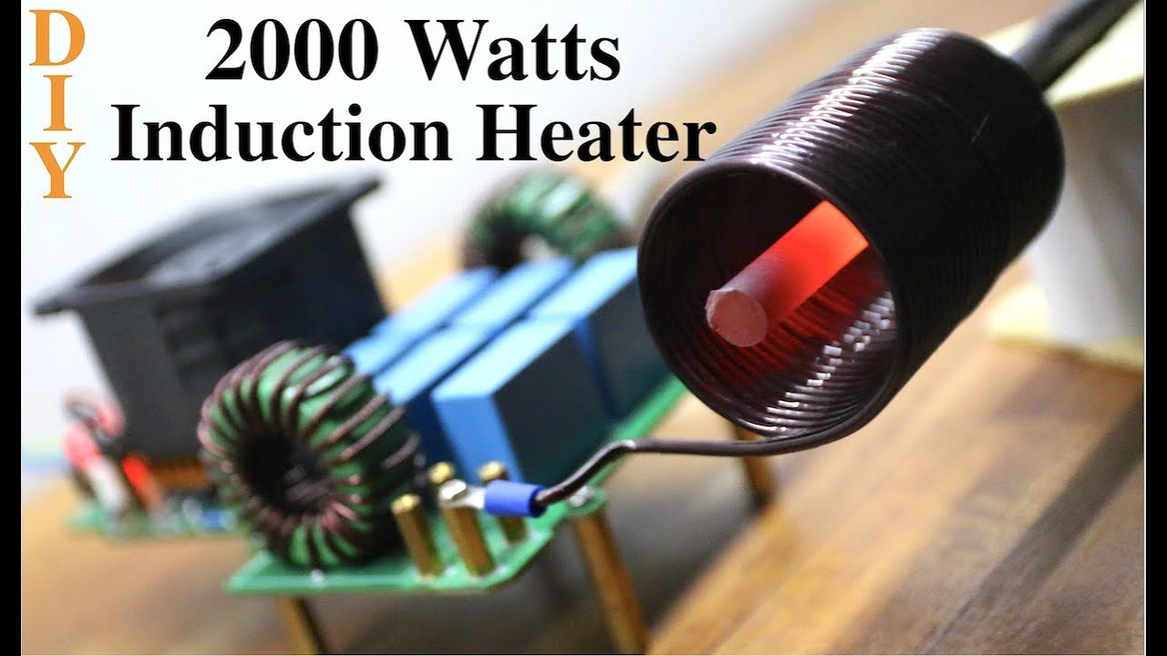 How to make a Powerful Induction Heater