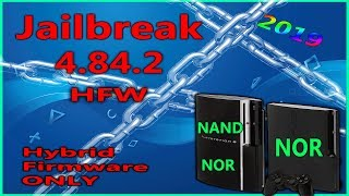 How To Jailbreak NAND And NOR PS3 With 4.84.2 HFW Full Tutorial Step By Step 2019