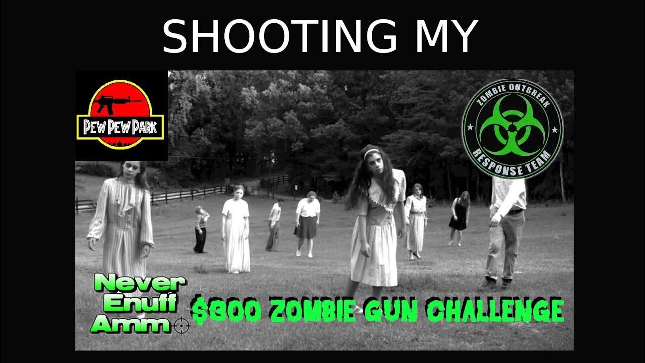 Shooting My Zombie Gun Challenge Rifle