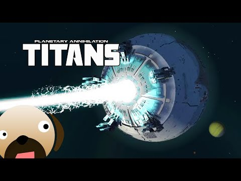 CONTROL THE DEATH STAR! Multiple Planet Battle - Planetary Annihilation Titans Multiplayer
