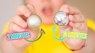 🔮 🌈DIY 2 Minute Mirror-Polished Japanese Foil Ball 🌈 Learn How To Make An Easy DIY Aluminium Ball