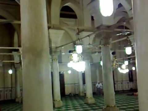 El-Sayeda Zeinab Mosque during evening prayers.mp4