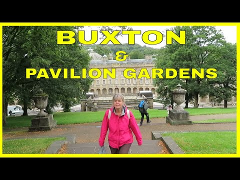 A Walk From BUXTON CARAVAN & MOTORHOME CLUB SITE To BUXTON In The PEAK DISTRICT