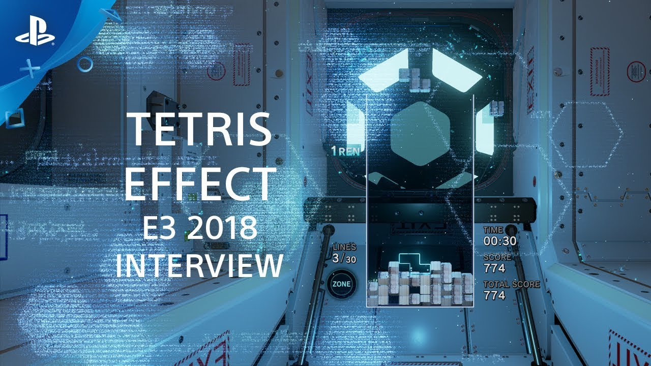 Tetris Effect Interview | PS4, PS VR at E3 2018 - YouTube