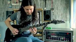 Megadeth - Tornado Of Souls - Guitar performance by Cesar Huesca
