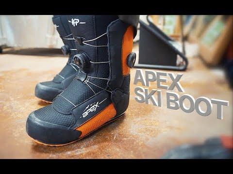 f2b59f16341 Dodge City Ski Shop - Apex Ski Boots - YouTube