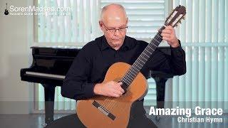 Amazing Grace (Christian Hymn) - Danish Guitar Performance - Soren Madsen