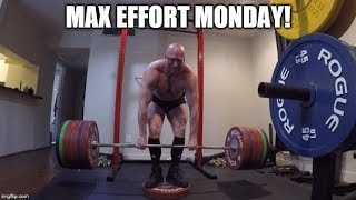 9-9-2019 Jason Blaha Training - Max Effort Deadlift Day