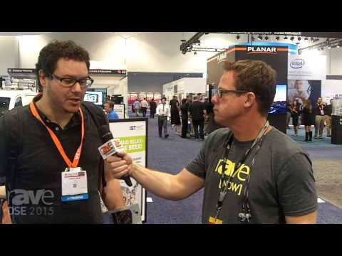 DSE 2015: Gary Kayye Interviews Attendee Chris Muir, Who's Interested in OLED and Projection for DS