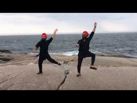 Jatt Mele a Gya || Maritime Bhangra Group || Bhangra at Peggy's Cove Halifax, NS, Canada